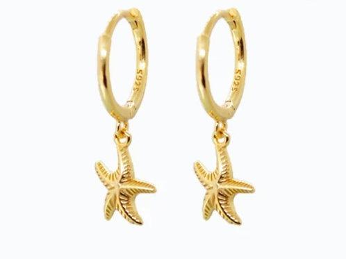 Boucles d'oreilles STARFISH