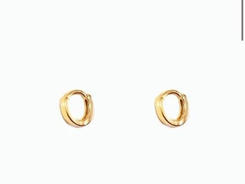 Boucles d'oreilles en plaqué or ISA