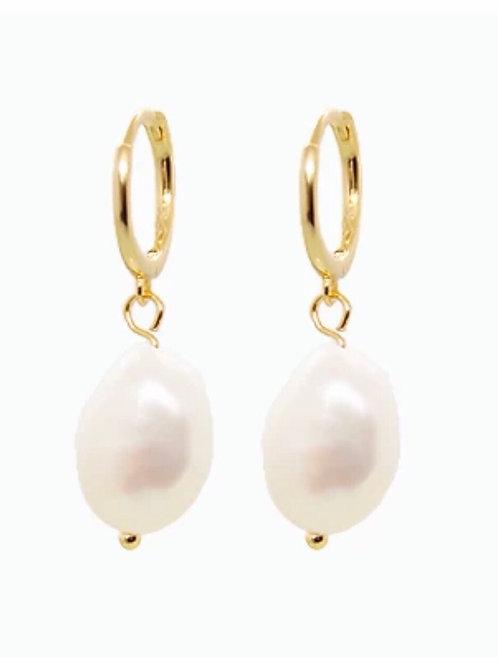 AURÉLIA perles nacrées plaqué or