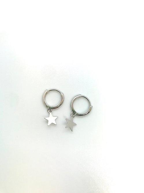 Boucles d'oreilles STARS argent