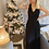 Thumbnail: Robe victoria longue noire