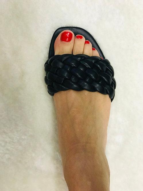 Sandales noires Clarisse