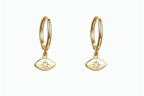 Boucles d'oreilles CORA dorées