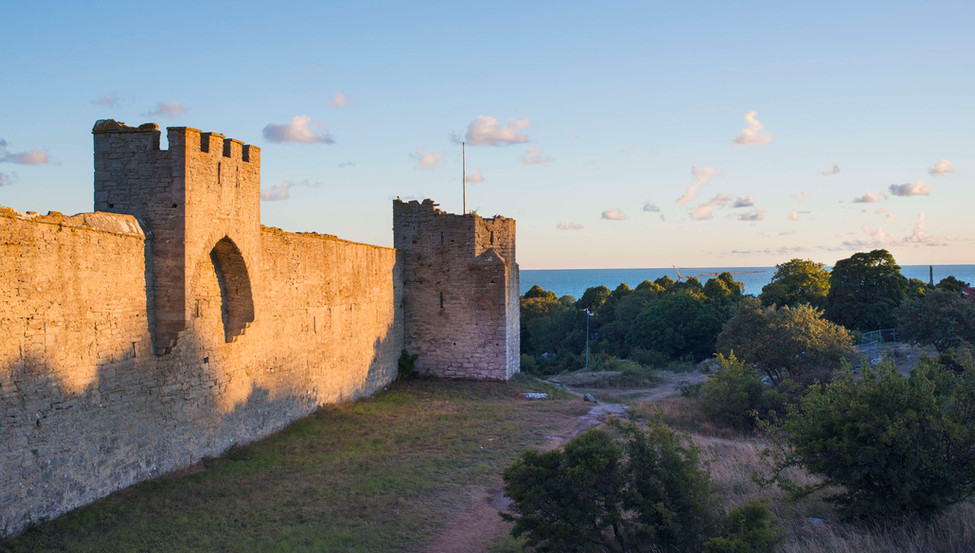 Visby city wall, Sweden