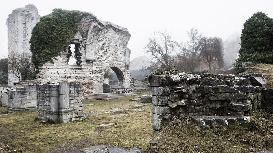 Ruin, Visby Sweden