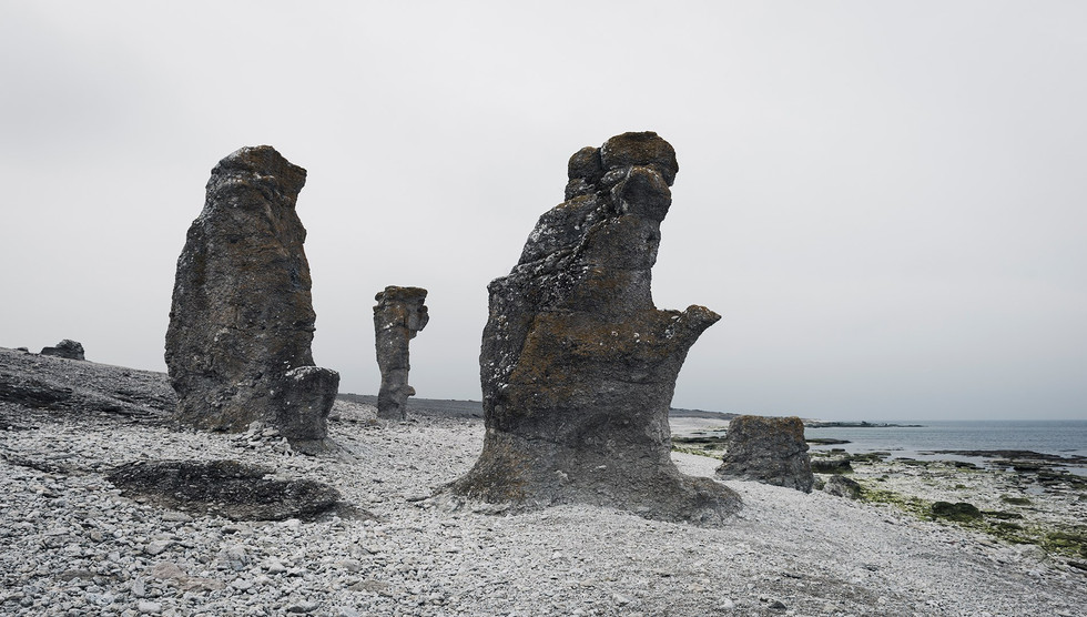 Stone formation, Gotland