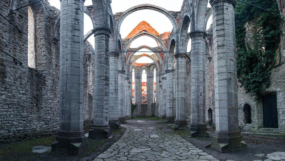 historical building, visby, Sweden