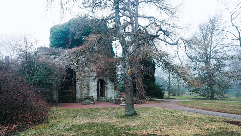 Church ruin, Visby, Sweden