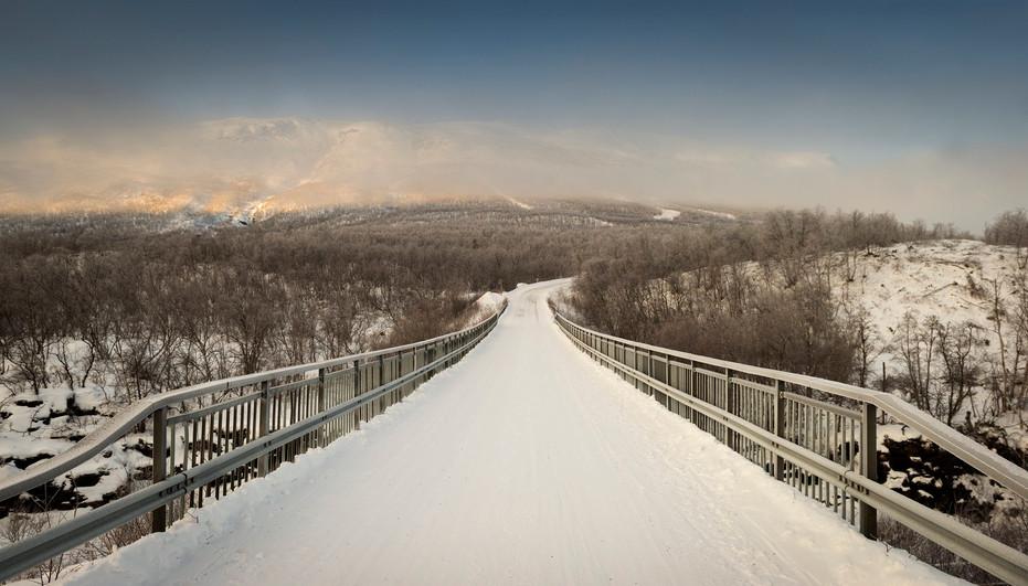 Bridge, north of Sweden