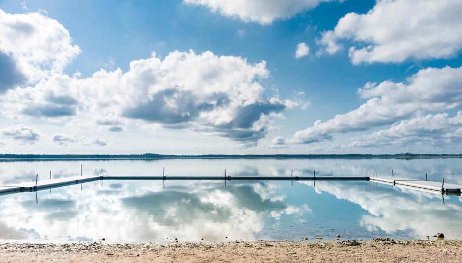 Bathing Place on Gotland, Sweden