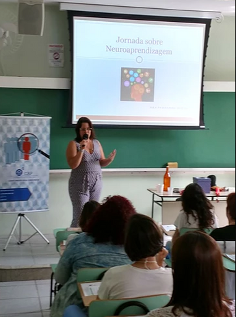 Dra. Fernanda Guedes - Neuropediatra na Jornada sobre Neuroaprendizagem