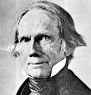 Henry Clay and Mitch McConnell (not pictured), both of whom,  coincidentally, hail from Kentucky.