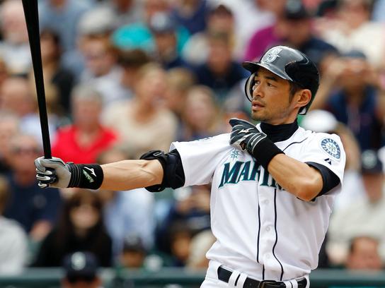 Blog No. 23 The Yankee Clipper, Mickey and the Amazing Ichiro