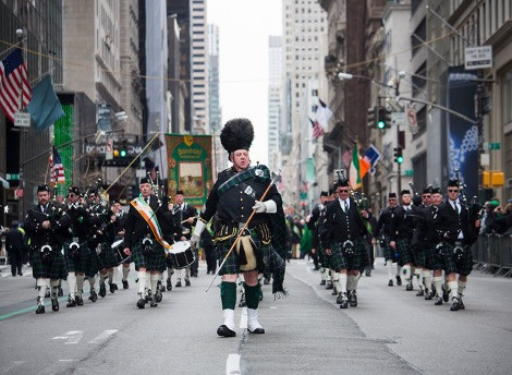 New York's St. Patrick's Day Parade; Photo Credit: NYT