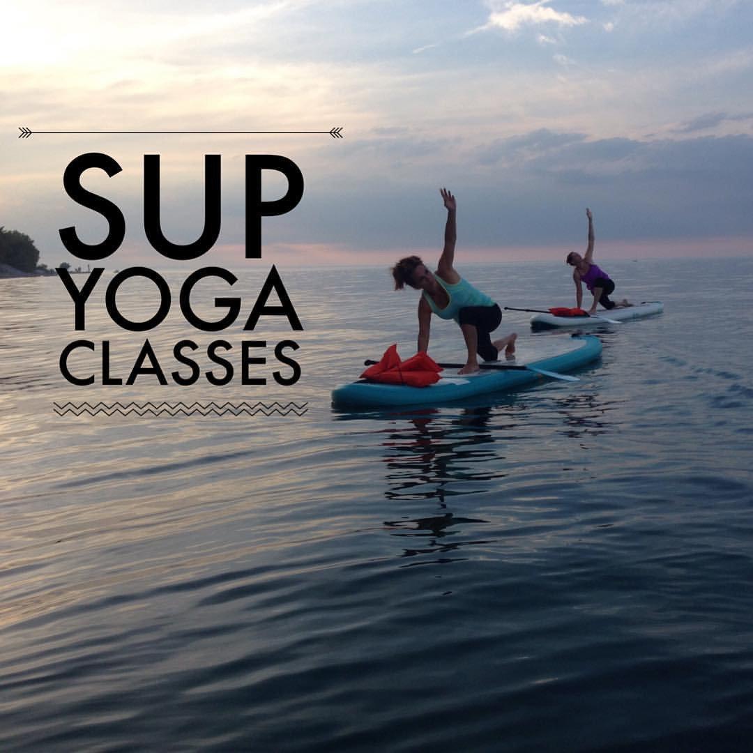 SUP Yoga or SUP Fitness