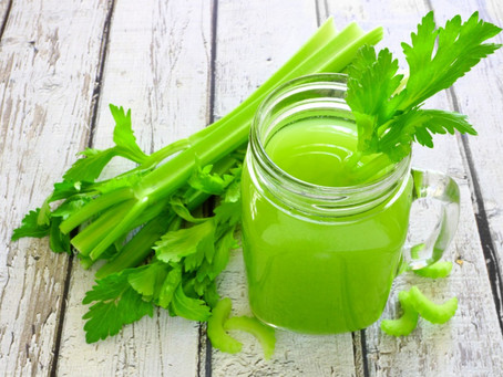 The Virtues of Celery Juice. The Miracle Juice.