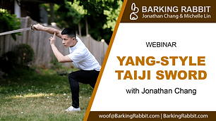 Yang-style Taiji Sword (Part 2)