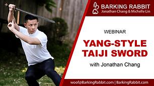 Yang-style Taiji Sword (Part 3)