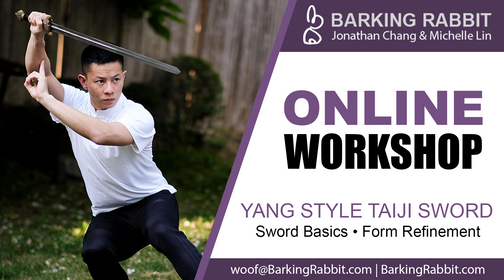 Workshop: Taiji Sword