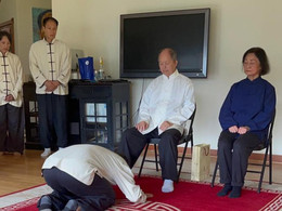 Discipleship Ceremony of Daniel Chadud (YMAA Chile)