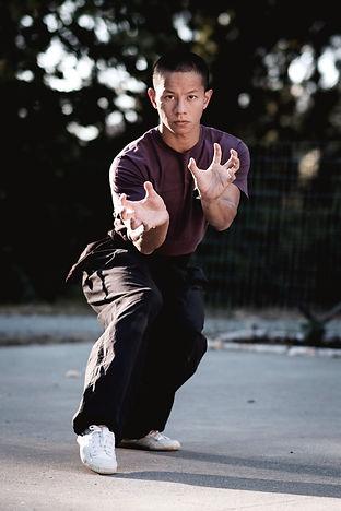 Jon White Crane Yao Gu