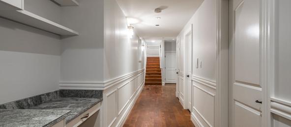 2847 Ashcraft Basement Hallway