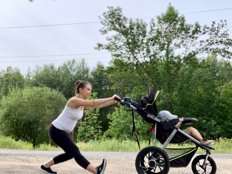Stroller Stretches