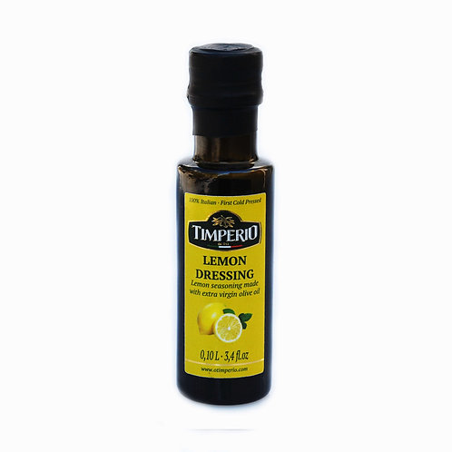 Lemon flavored extra virgin olive oil
