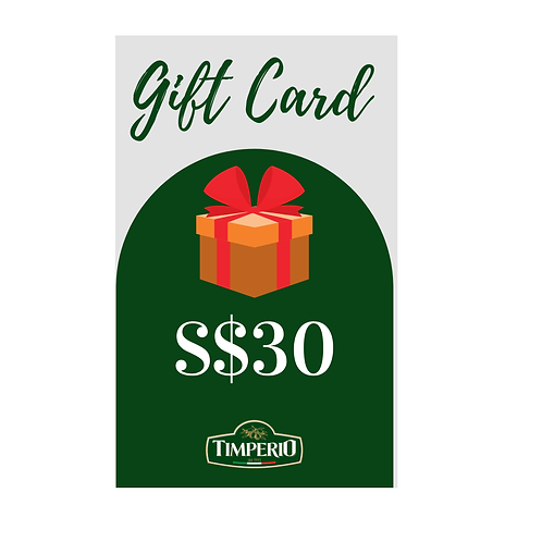 Timperio Gift Card
