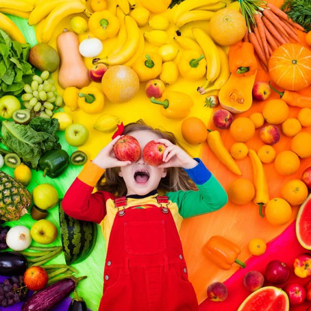 Eating Rainbows – Multi-Coloured Nutrition