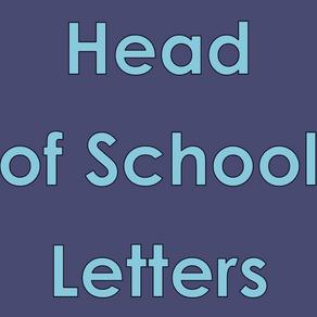 Head of School Letters