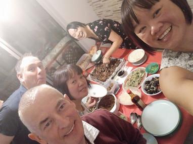 Pre covid family gathering