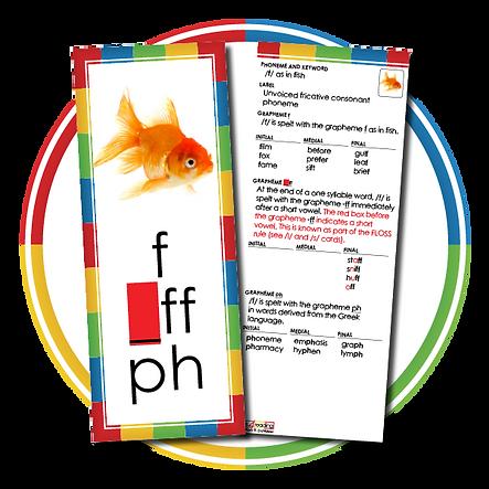 Australian Phoneme/Grapheme Cards – Teacher's Instructional Set