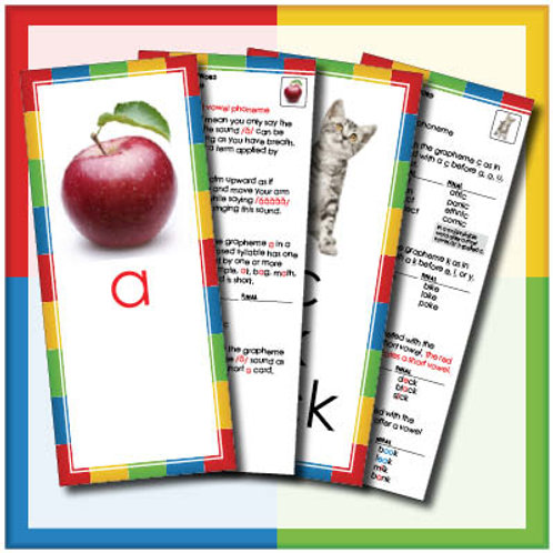Phoneme/Grapheme Cards – Teacher's Instructional Set