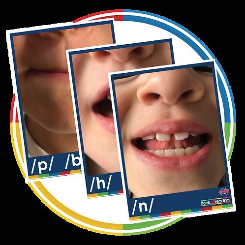 Australian Kid Lips Cards