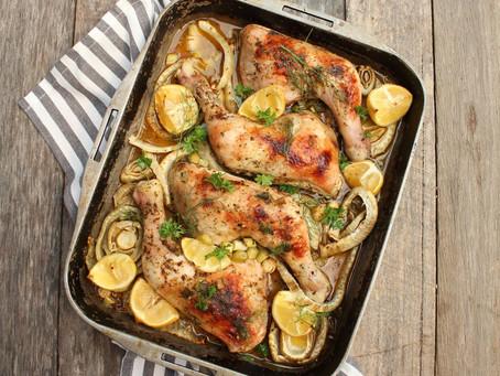 Roast Lemon & Fennel Chicken