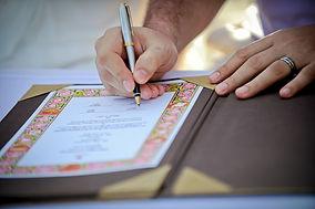 Signing the wedding certificate.jpg