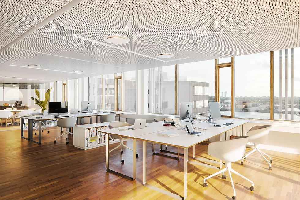 En strategisk plan for en bæredygtig totalrenovering løfter det tidligere Ericsson hovedkvarter i København fra lukket og stationær bygning til imødekommende og moderne kontormiljø.