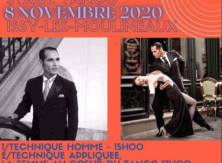 Stages avec Ivan et Virginie INOFRE  le 8 novembre 2020