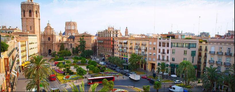 plaza virgen