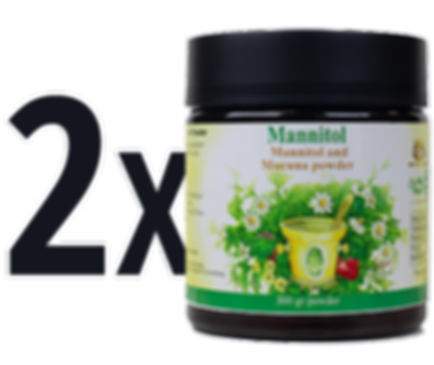 2X Mannitol | Natural Parkinson's Treatment
