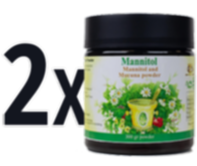 2X Mannitol | Natural Parkinson's Treatment