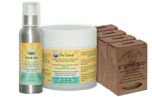 Psoriasis treatment kit | Dead-sea psoriasis kit