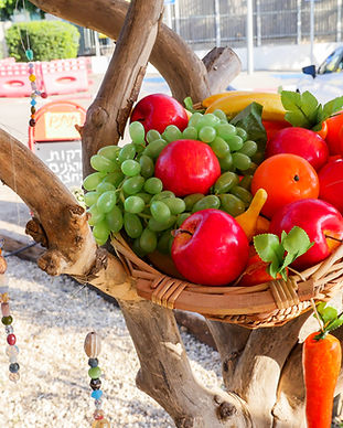 ירקות ופירות אורגניים בהוד השרון