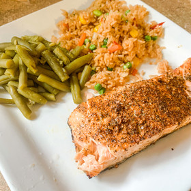 Easy Air-Fried Salmon