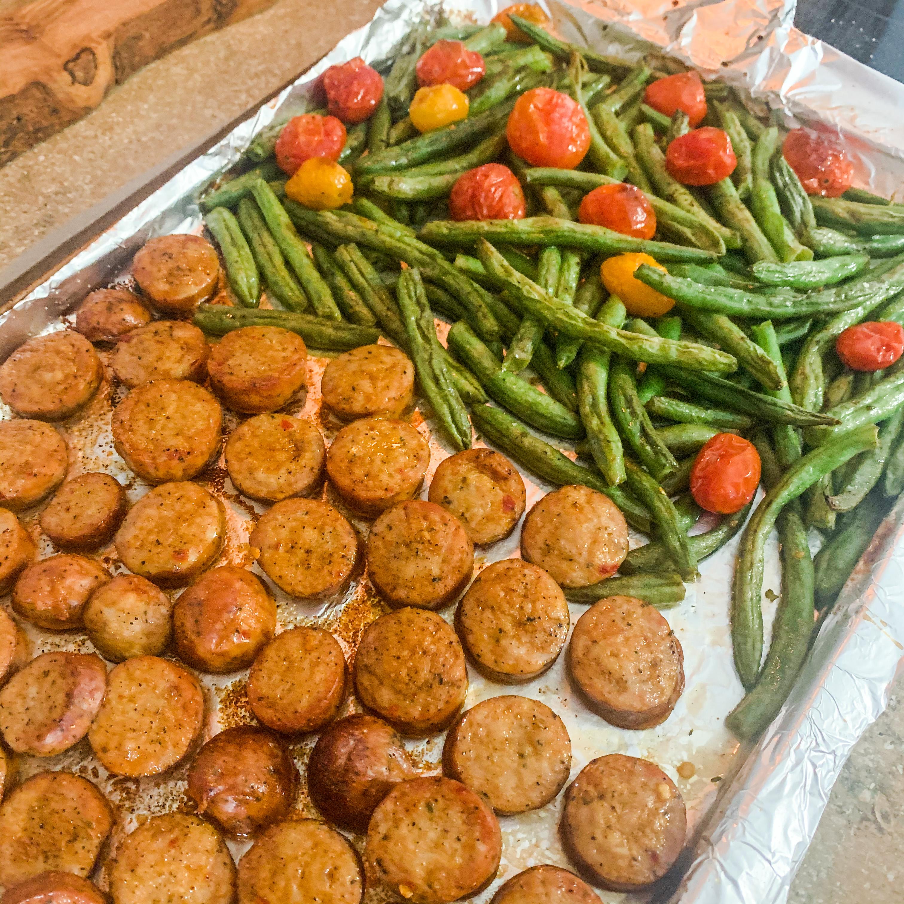 Sausage Sheet Pan
