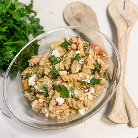 TAHINI RANCH PASTA SALAD