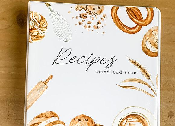 Recipe Binder- Tried & True