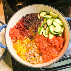 ONE-POT TACO SOUP