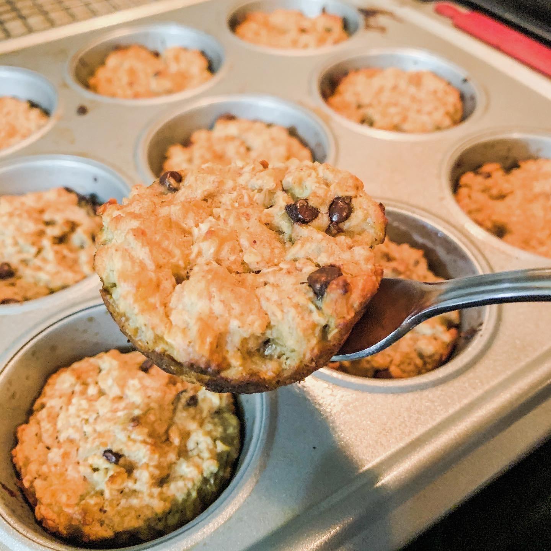 PB Oat Muffins
